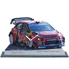 OGIER, Rallye Monte Carlo 2019, Citroen C3 WRC, en horloge miniature 01