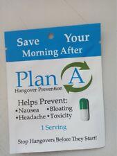 Plan A Hangover Prevention Pill, Hangover Cure, Anti Hangover, Hangover Pill