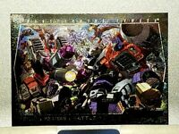 Fleer 2003 TRANSFORMERS Armada Poster Card Battle Royale #10 of 10