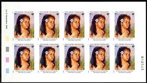 Polynésie Non dentelés - Imperf 1994 Yvert 468-471 Artistes Peintres Polynésie