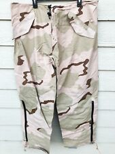 USGI ECWCS GORE-TEX COLD WEATHER DESERT CAMOUFLAGE PANTS - X-LARGE LONG