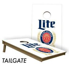 Slick Woody's Tailgate 2' by 3' Miller Lite Cornhole Board Set USA Made Quality!
