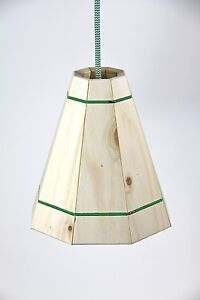 lamp shade table light cover wooden pendant 50 cm
