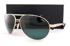 New Chopard Sunglasses SCH B01M L45P Gold/Green For Men