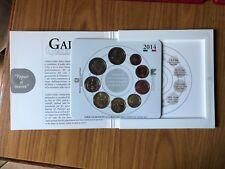SERIE 9 MONETE IN EURO 2014 OFFICIAL COIN SET GALILEO NUMISMATICA SUBALPINA