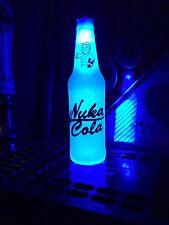 Fallout Nuka Cola Quantum 12 oz Beer Bottle Light LED XBOX Man Cave