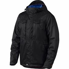Oakley Men's Spoiler Jacket Water Repellent Hydrofree Jet Black Size Medium NWT
