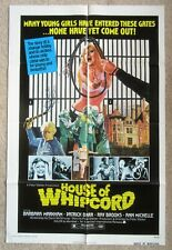 HOUSE OF WHIPCORD ORIGINAL 1974 1SHT MOVIE POSTER FLD EX
