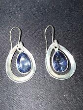 Shivam Made In India Sterling Silver/Blue Mystic Quartz-NWT