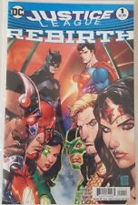 Justice League Issue 1 Variant Rebirth Batman Superman Wonder Woman