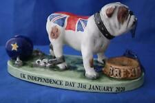 More details for bairstow manor collectables brexit day rule britannia british bulldog brand new