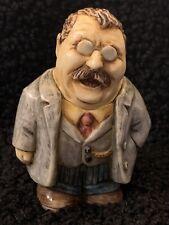 Harmony Kingdom Pot Belly President Teddy Theodore Roosevelt Rare No Box Figure