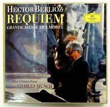 Berlioz Requiem CHARLES MUNCH Bavarian Broadcasting Orch DGG Tulip 2 LP Cla310
