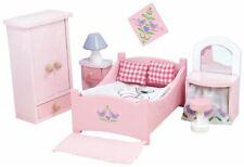Le Toy Van DOLL HOUSE SUGAR PLUM BEDROOM Wooden Toy BNIP