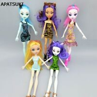 Fashion Wedding Dress For Monster High Dolls Party Gown Clothes For Monster Doll
