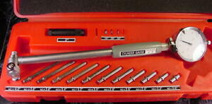 """2 """" to 6 """" Precision Dial Cylinder Bore GAUGE TOOL & Case caliper mic micrometer"""