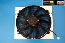 "KKS SHROUD W/ 16"" FAN for 1965-1966 FORD Mustang v8 engine ALUMINUM RADIATOR"
