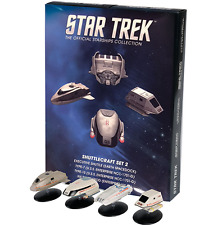 STAR TREK Official Starships Magazine SHUTTLECRAFT set #2 (4 pack) Eaglemoss