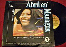 ABRIL EN MANAGUA - CHICO BUARQUE,ETC -  CONCIERTO POR LA PAZ VOL 1 - URUGUAY