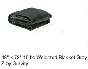 Z by Gravity Worlds Most Popular Weighted Blanked For Sleep-SINGLE-15 LBS-NEW!
