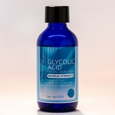 10% GLYCOLIC ACID Chemical Peel Kit Medical Grade 100% Pure! Acne-Scars-Wrinkles
