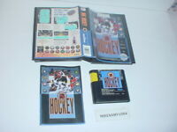 NHL HOCKEY game complete in case w/ Manual - SEGA GENESIS