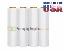 4 Plastic Shrink Hand Stretch Wrap Roll 18