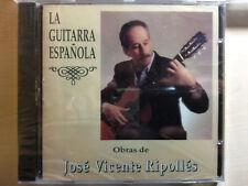 DISCOGRAFIA COMPLETA -GUITARRISTA CLASICO ESPAÑOL JOSE VTE RIPOLLÉS 1996,03 Y 09
