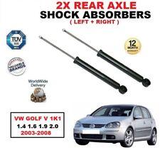ARRIÈRE GAUCHE + AMORTISSEUR DROIT Kit pour VW GOLF V 1K1 1.4 1.6 1.9 2.0