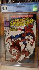 Amazing Spiderman #361 CGC 9.2  Newsstand Edition! WHITE PAGES First Carnage