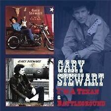 Gary Stewart I'm A Texan/Battleground 2-CD NEW SEALED 2013 Country