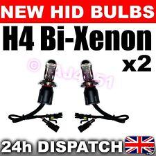 2x REPLACEMENT Bi-XENON HID Bulbs H4 8000k Main + Dip