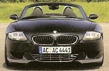 BMW Z4 M E85 E86 2006-2008 OEM AC Schnitzer Brand Chrome Front Grille Brand New