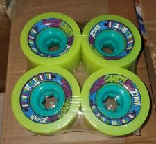 Nersh Candy 70mm 82a Yellow Longboard Wheels