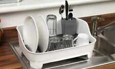 Beldray Large Dish Drainer Space Saving Design For Carvan , Camping , Kitchen