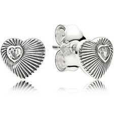 Pandora pendientes plata CIRC corazon