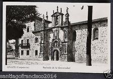 1782.-OÑATE -(Guipúzcoa) Fachada de la Universidad