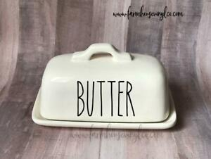 Butter Dish Decal