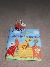 Who's in the garden? Soft book