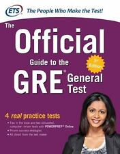 The Official Guide to the GRE General Test by Educational Testing Service (2016,