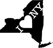 I Love New York vinyl decal sticker for car/truck laptop window custom