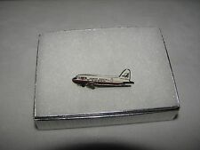 NORTH CENTRAL AIRLINES DC-3 AIRPLANE LAPEL TAC PIN NWA DELTA PILOT GIFT