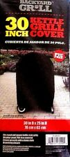"""Backyard Grill Kettle Grill Cover 30"""" x 25"""" Weatherproof / Fits Round and Square"""