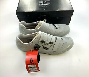 Scott Road Premium Carbon Cycling Shoes Matte Grey 45 EU / 11 US New in Box
