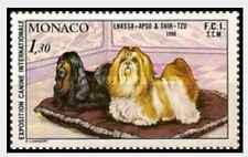 Timbre Chiens Monaco 1232 ** lot 18958