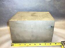"""Titanium Block Alloy is 6AL-4V.I  43 lbs 8"""" X 6"""" X 5.25"""""""