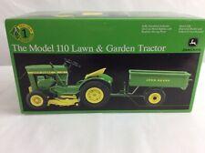 ERTL 1/16 Precision Die Cast John Deere The Model 110 Lawn & Garden Tractor NIB