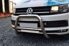 Per adattarsi 10-15 VW Volkswagen Transporter T5 BULL BAR spingere un Bar-UE Approvato CE