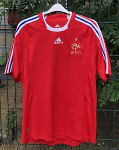 NATIONAL TEAM FRANCE 2008/2009 AWAY FOOTBALL SHIRT JERSEY MAILLOT SOCCER MAILLOT