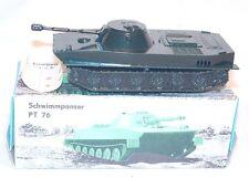 VEB Piko Plasticart 1:50 Russian PT-76 AMPHIBIAN PANZER TANK Plastic MIB`70 RARE